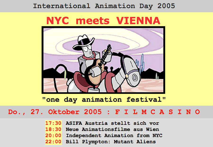 ONE DAY ANIMATION FESTIVAL 2005